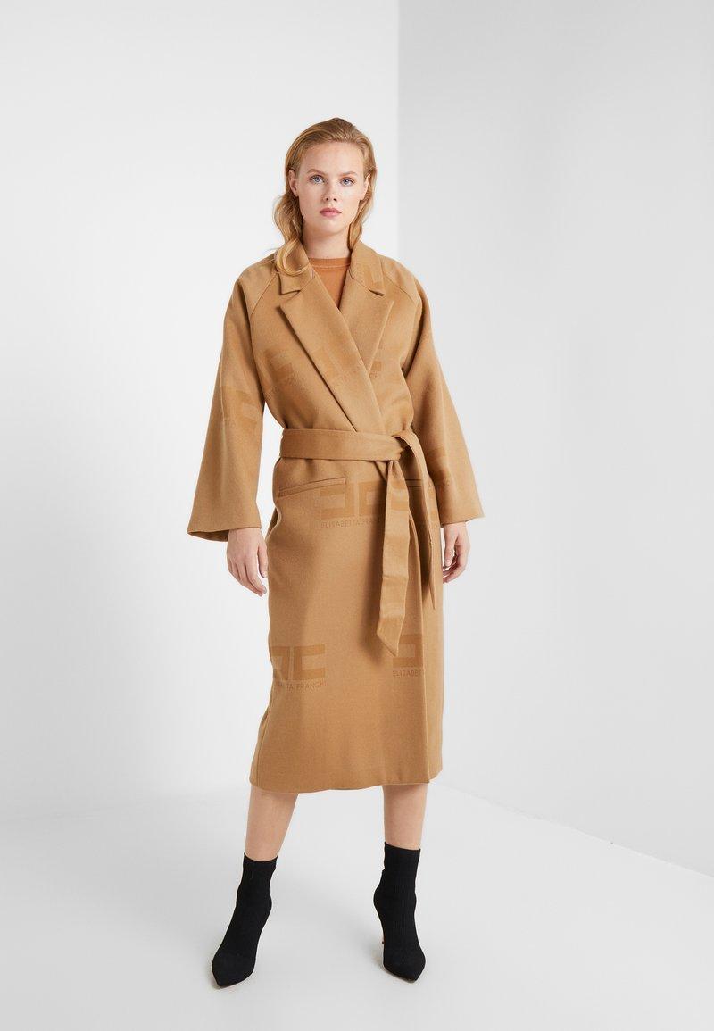 Elisabetta Franchi - Classic coat - cammello