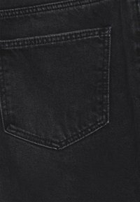 Noisy May Petite - NMSMILEY DESROY - Szorty jeansowe - black denim - 2