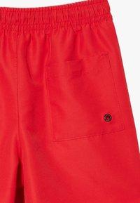 Calvin Klein Swimwear - MEDIUM DRAWSTRING INTENSE POWER - Badeshorts - red - 4