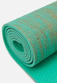 HIIT - FLAX YOGA MAT - Fitness/yoga - green - 2