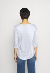Anna Field - Long sleeved top - light blue/white - 2