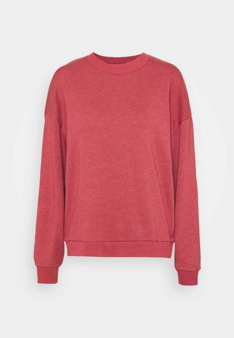 American Eagle - KEY ITEM CREW  - Sweatshirt - rust