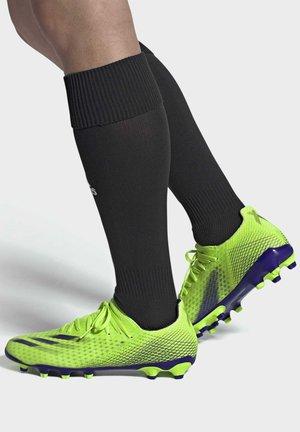 X GHOSTED.3 MULTI-GROUND BOOTS - Scarpe da calcetto con tacchetti - green