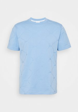 T-shirt basic - nattier blue