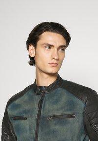 Be Edgy - ANDY  - Leather jacket - indigo - 3