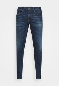 Tommy Jeans - AUSTIN SLIM - Jean slim - aspen dark blue stretch - 4