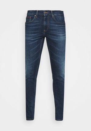 AUSTIN SLIM - Džíny Slim Fit - aspen dark blue stretch