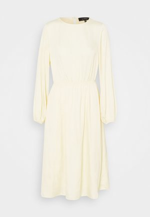 KIRA X NU - IN BALLOON SLEEVE MIDI DRESS - Robe d'été - yellow