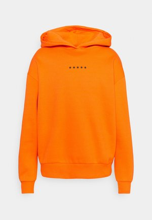 GLOBE OVERSIZED HOODIE - Hoodie - orange