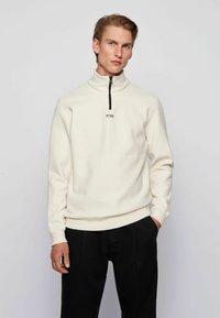 BOSS - ZAPPER - Sweatshirt - white - 0