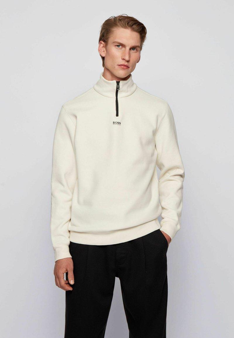 BOSS - ZAPPER - Sweatshirt - white