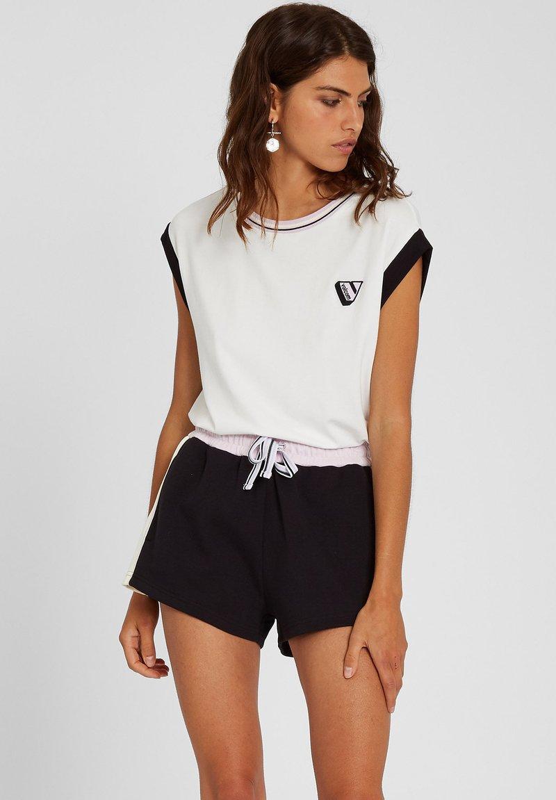Volcom - SIIYA KNIT TOP - Print T-shirt - white