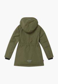 TrollKids - GIRLS ALESUND COAT - Down coat - khaki green - 1