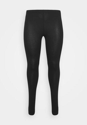 LONG - Leggings - Trousers - black