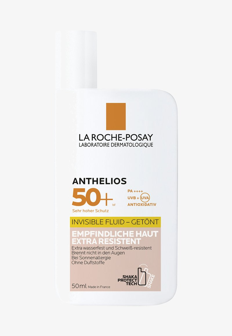 La Roche-Posay - ANTHELIOS INVISIBLE FLUID LSF 50+ GETÖNT - Sun protection - -