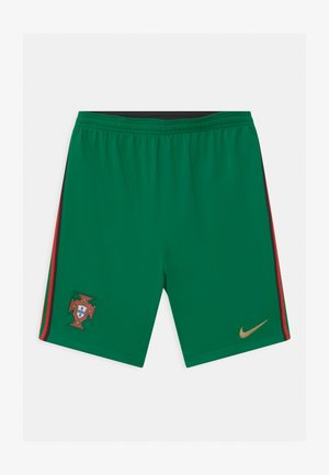 PORTUGAL UNISEX - Sports shorts - pine green/metallic gold