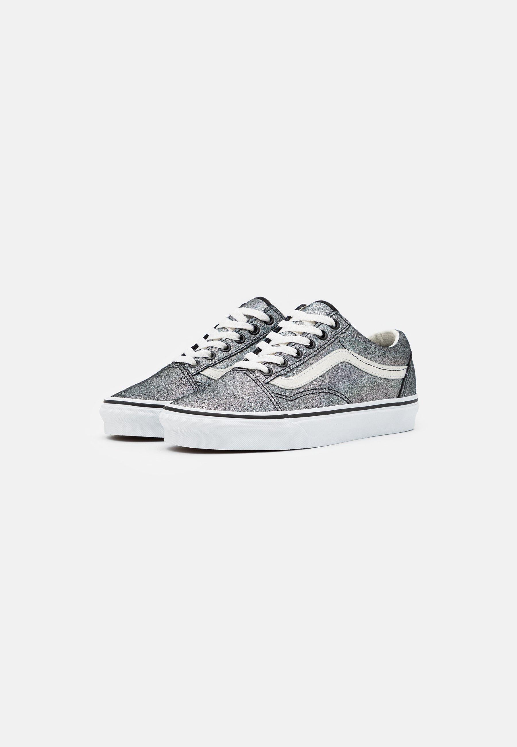 Vans OLD SKOOL Sneaker low black/true white/grau