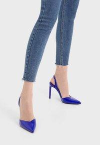 Bershka - High heels - metallic blue - 0