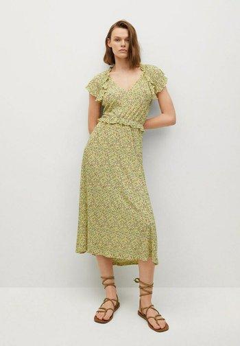 Korte jurk - amarillo pastel