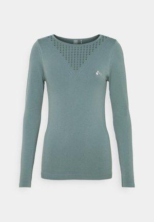ONPDAMITA LIFE CIRCULAR - Langærmede T-shirts - goblin blue