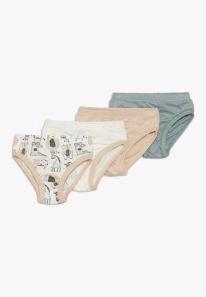 ANIMALS 4 PACK - Briefs - light pink