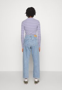 Monki - KYO - Jeans straight leg - blue medium dusty - 2