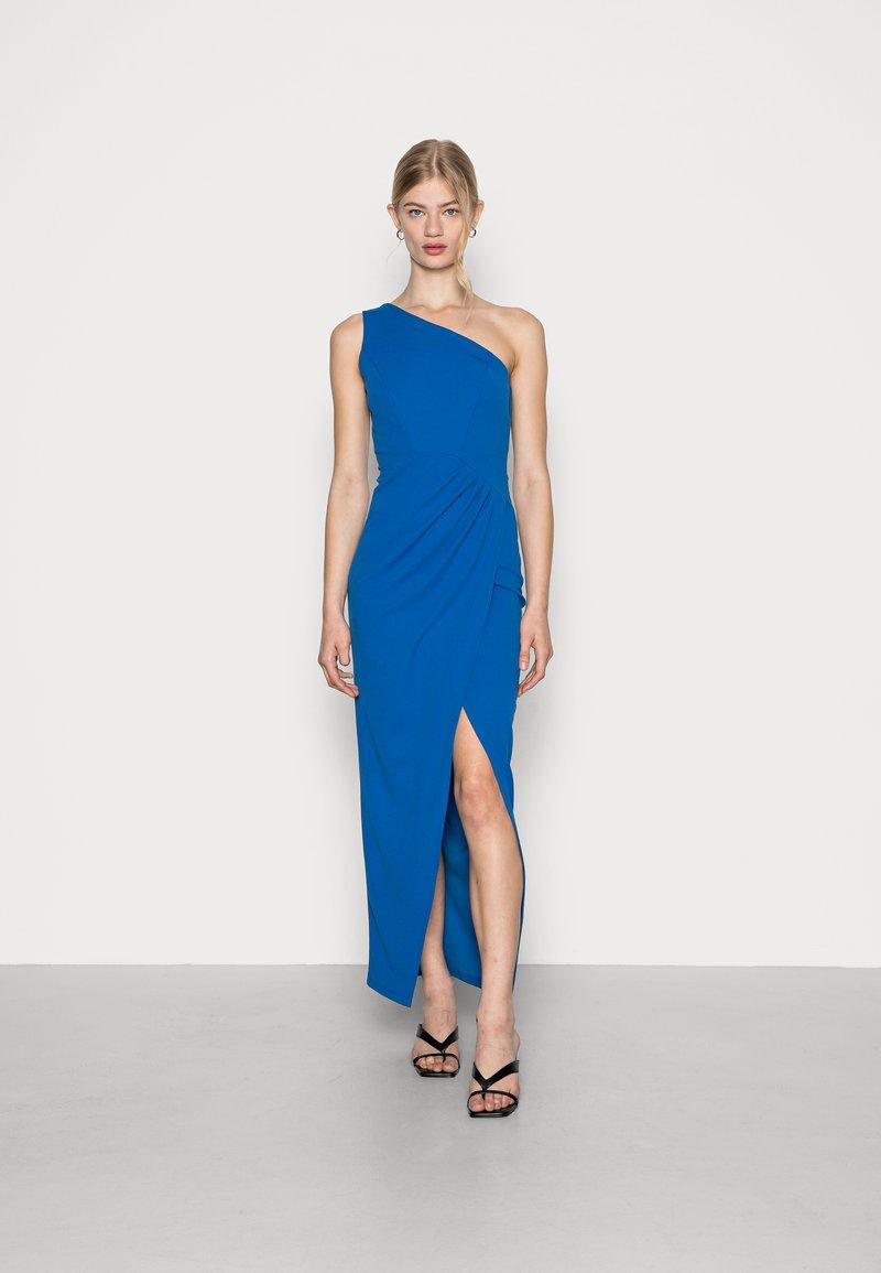 WAL G. - CHARMAINE ONE SHOULDER MAXI DRESS - Occasion wear - royal blue