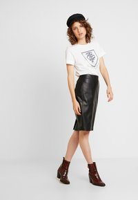 comma - Mini skirt - black - 1