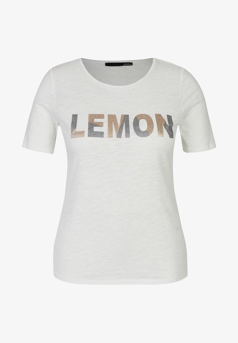 LeComte - Print T-shirt - Weiß