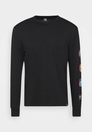 Long sleeved top - flint black