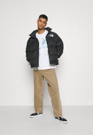 RETRO NUPTSE JACKET UNISEX - Down jacket - black