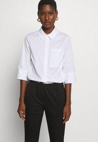 Marc O'Polo PURE - Trousers - pure black - 3