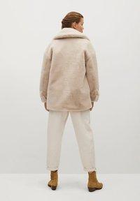 Mango - WOODI - Winter coat - écru - 2