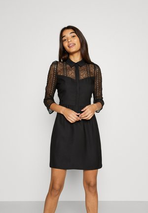 VIVIEN - Shirt dress - noir