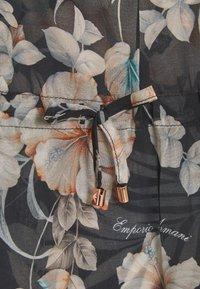 Emporio Armani - PONCHO - Beach accessory - nero - 2