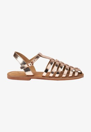 Sandals - rose gold coloured