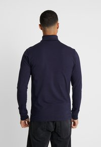 Only & Sons - ONSESSAY ROLLNECK TEE - Long sleeved top - night sky - 2