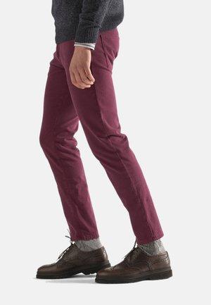 Slim fit jeans - bordeaux