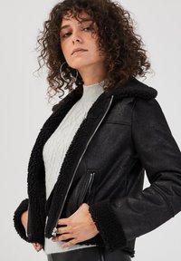 Cache Cache - ZWANGS SPIRIT - Leather jacket - noir - 3