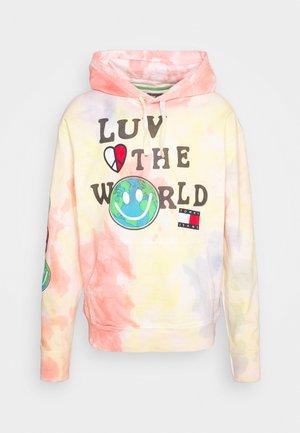 LUV THE WORLD HOODIE UNISEX - Sudadera - multi-coloured