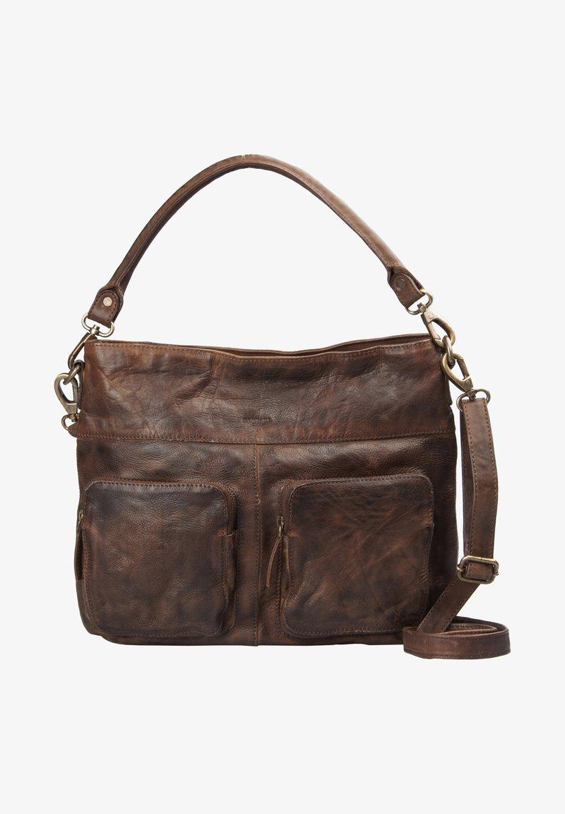 MONTANA - Handbag - brown