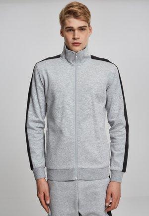 Training jacket - grey/black