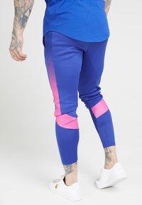 SIKSILK - Tracksuit bottoms - blue neon - 2