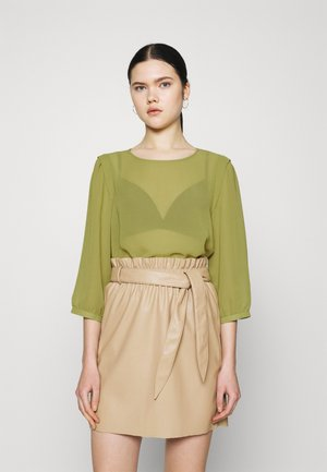 VIBLOSSOMS - Long sleeved top - green olive