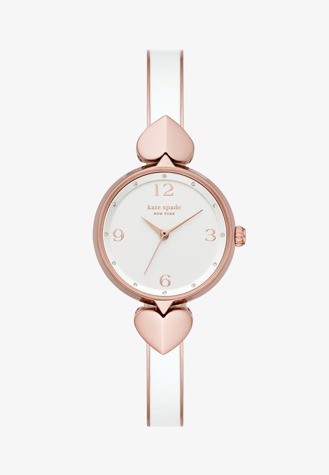HOLLIS - Watch - white/rose gold-coloured