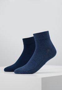 Levi's® - MID CUT 2 PACK - Socks - denim blue - 0