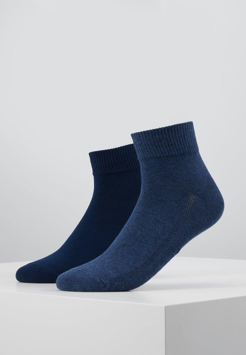 Levi's® - MID CUT 2 PACK - Socks - denim blue