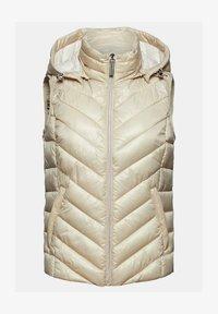 Esprit - MIT 3M™ THINSULATE™ - Waistcoat - cream beige - 7