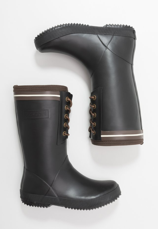 BOOT LACE THERMO - Kumisaappaat - black