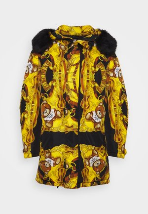 Zimní kabát - yellow/black